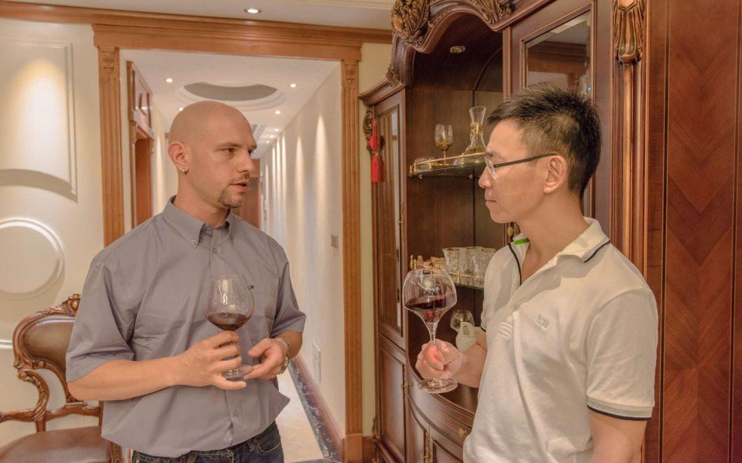 Prezentacija sorti Masvinovih vina u Nantongu