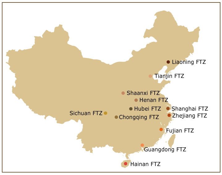 Free Trade Areas in China – Opportunity for Foreign Companies